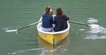 kyoto-friends_boating_lake_Grace&Lightness_friendship_by-Molly-Beauchemin