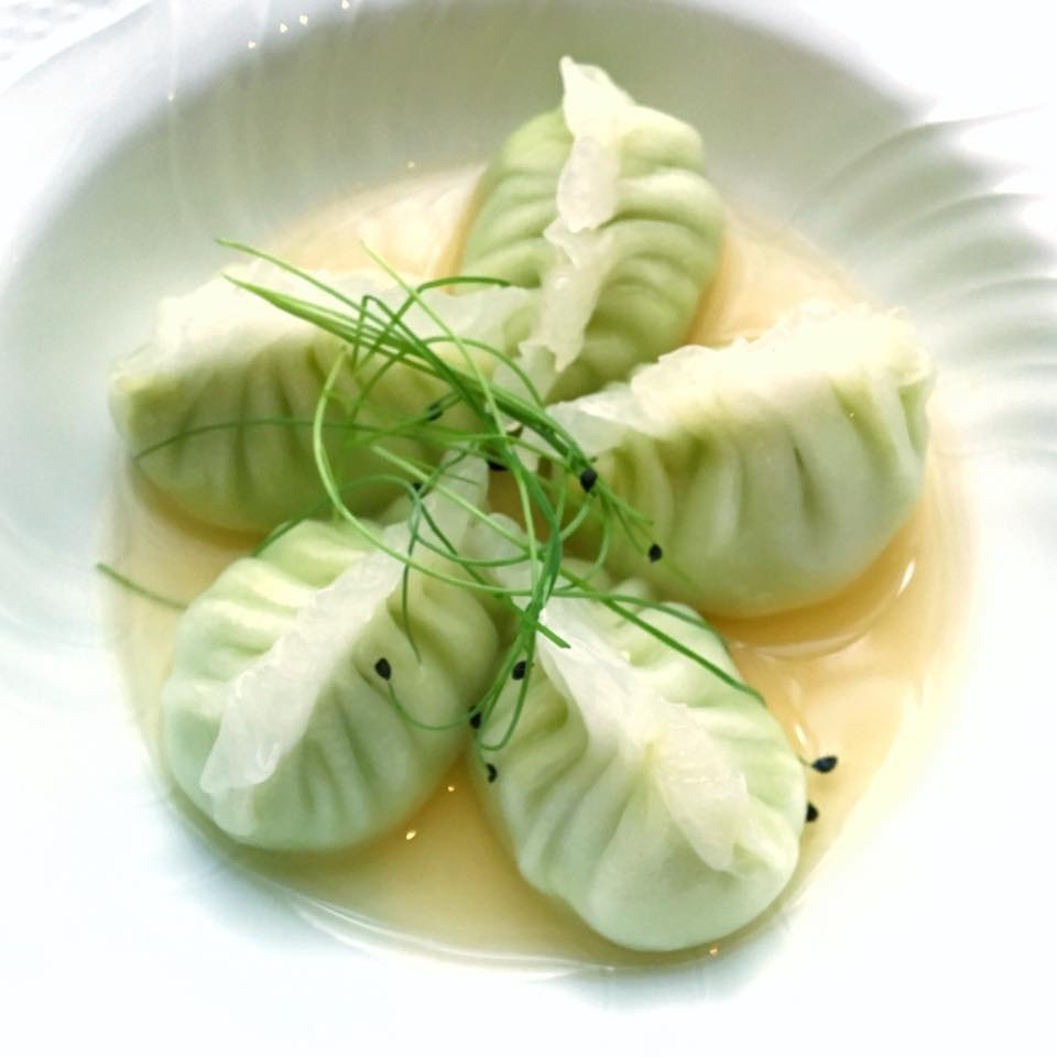 edamame dumplings NYC _ buddakan nyc