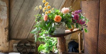 rustic-bouquet_Snug-Harbor-Farm-Maine_Kennebunkport-farms_honoring-life-meditation