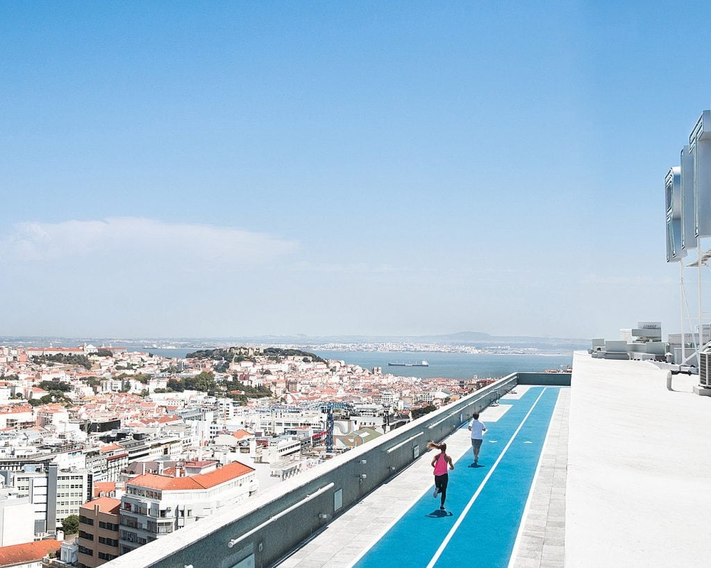 rooftop-running-in-Lisbon-Portugal_the-Four-Seasons-Lisbon