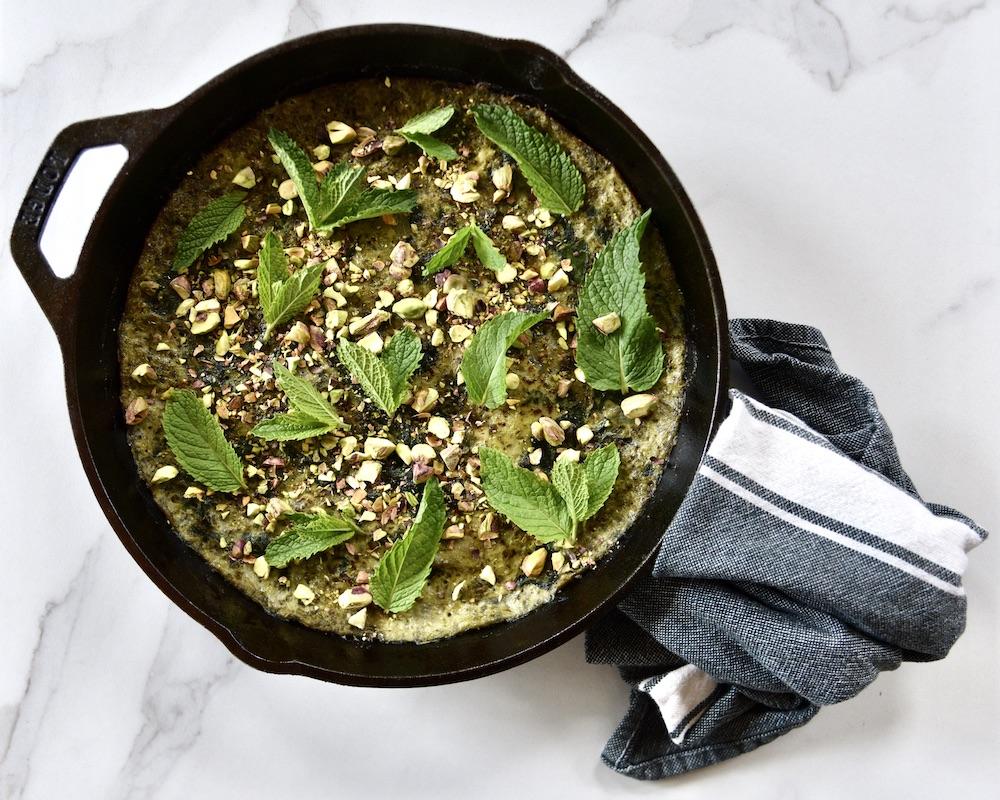 persian-frittata-recipe_pesto-frittata_green-frittata-recipe