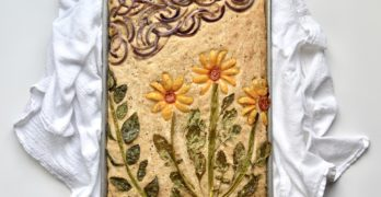 focaccia garden bread recipe