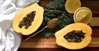 homemade papaya seed salad dressing