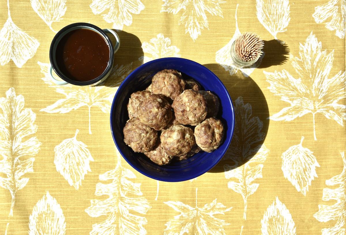 wagu beef meatballs