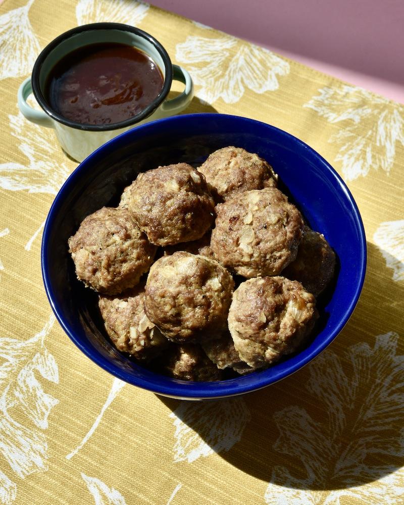 wagyu beef meatballs recipe