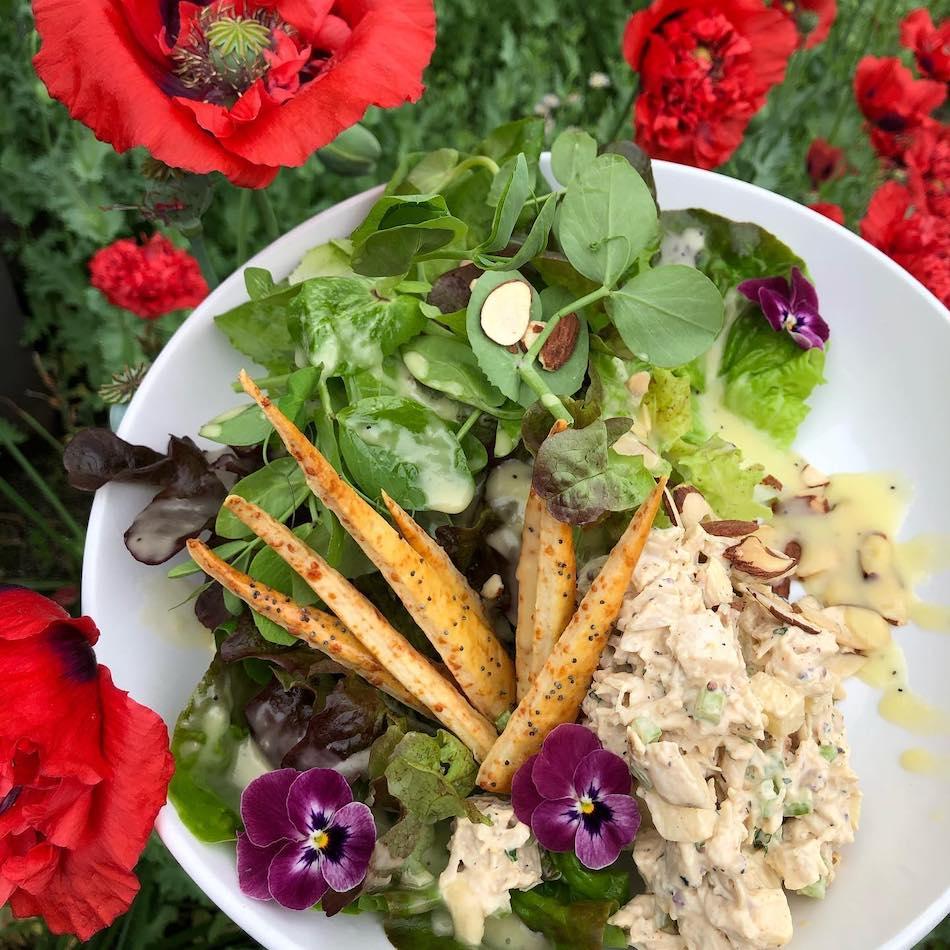 asheville's best salads