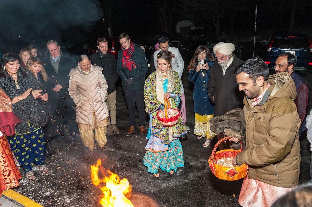 walking-around-lohri-bonfire