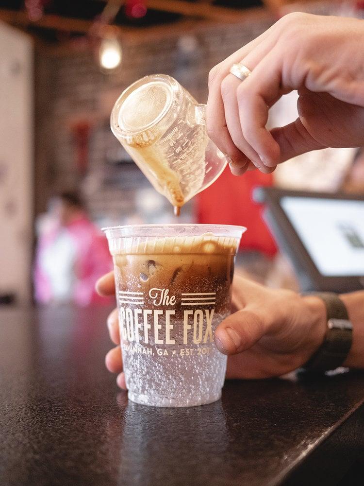 best-iced-coffee-savannah-ga